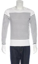 Sandro Striped Knit Sweater