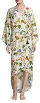 MAISON DU SOIR Isabella Floral Kimono Robe