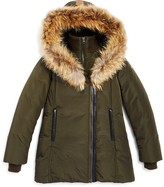 Mackage Girls' Fur-Trimmed Coat