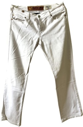 Notify Jeans White Cotton Jeans for Women