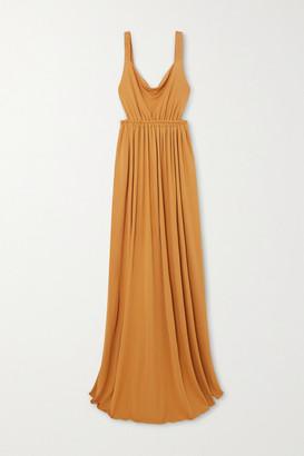Matteau + Net Sustain Gathered Jersey Maxi Dress