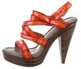 Proenza Schouler Multistrap Platform Sandals