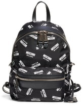 Moschino Logo Nylon Backpack