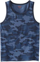 Joe Fresh Men's Camo Jersey Tank, JF Midnight Blue (Size XS)