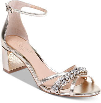 Badgley Mischka Jewel by Giona Ii Evening Sandals Women Shoes