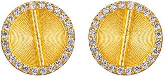 Aflé Bijoux Sparkle Akan Clip On Earrings Small
