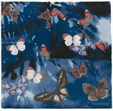 Valentino Garavani Valentino Jamaican Butterflies scarf - women - Silk - One Size