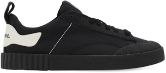 Diesel Bully Cotton Canvas Low Top Sneakers