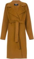 Rochas long belt coat