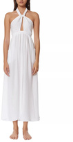 Mara Hoffman White Halter Dress