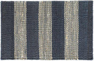 Dash & Albert Rugby Jute Rug - Denim/Natural 5'x8'