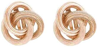 Susan Caplan Vintage 1980s Vintage Swirl Clip-on Earrings