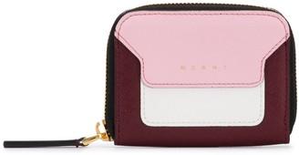 Marni Squared Zip-Around Wallet