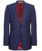 Jules B Shelton Check Jacket