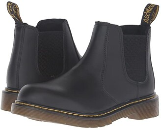 Dr. Martens Kid's Collection 2976 Youth Banzai Chelsea Boot (Big Kid) (Black) Boys Shoes