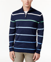 Club Room Men's Ombré-Stripe Mock-Collar Sweater, Only at Macy's