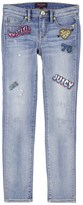 Juicy Couture Girls Embroidered Skinny Jean