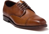 Allen Edmonds Clarkston Brogue Cap Toe Leather Derby - Wide Width Available