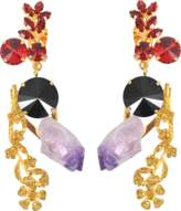 Marni Amethyst and crystals earrings