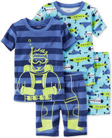 Carter's 4-Pc. Scuba & Submarines Pajama Set, Little Boys (2-7) & Big Boys (8-20)