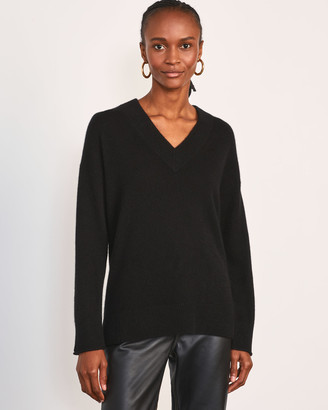 Jigsaw Cloud Cashmere V Neck