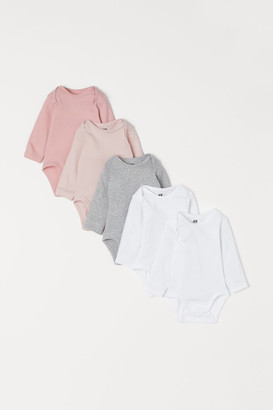 H&M 5-pack Bodysuits - Pink
