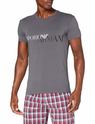 Emporio Armani Men's Megalogo Crew Neck T-Shirt