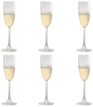 Cellar Tonic 6 Piece Flute Wine Glass Set 240ml