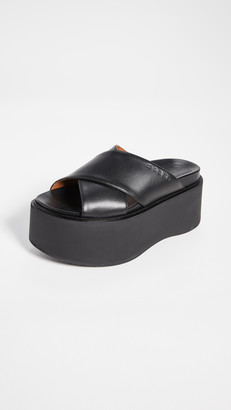 Marni Platform Wedge Sandals