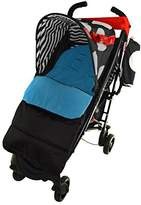 Deluxe Footmuff Cosy Toes Compatible with Joolz Day Pushchair Black