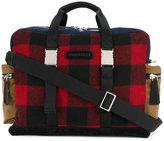 DSQUARED2 tartan duffle bag