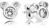 Disney Mickey Mouse Dazzling Earrings by PANDORA