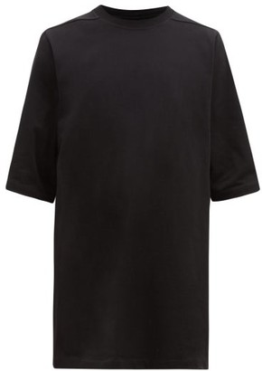Rick Owens Oversized Cotton T-shirt - Black
