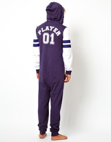 Asos Onesie With Player Print