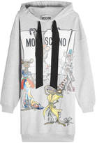Moschino Printed Cotton Sweatshirt Dress
