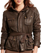 Lauren Ralph Lauren Waxed Stretch Cotton Jacket