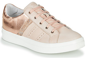 GBB DANINA girls's Shoes (Trainers) in Beige