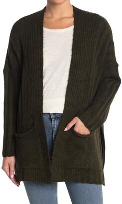 Topshop Textured Cardigan Sweater