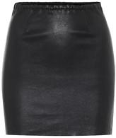 STOULS Rita leather miniskirt