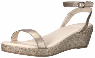 Touch Ups Women's Bailey Espadrille Wedge Sandal Nude 8 M US