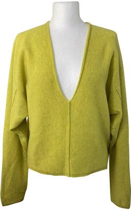 Free People Green Cashmere Knitwear