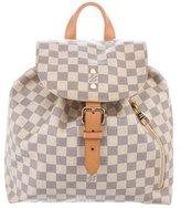 Louis Vuitton 2016 Damier Azur Sperone Backpack