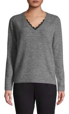 Vero Moda Lace-Inset Pullover
