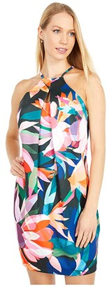 Trina Turk Sizma Dress (Multi) Women's Clothing