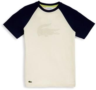 Lacoste Little Boy's & Boy's Big Croc Cotton T-Shirt