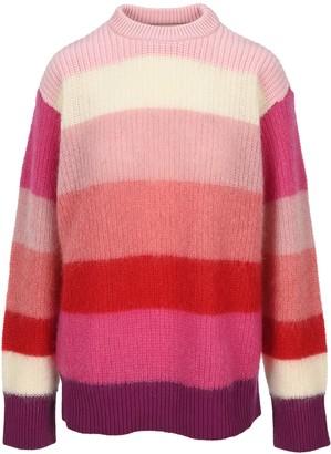 Marni Tight-Fitting Striped Crewneck Sweater
