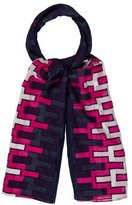 Jonathan Adler Multicolor Printed Scarf w/ Tags