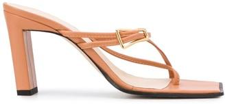 Wandler Buckle Strap Sandals