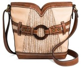 Bolo Cross Body Bags Stone Grey Solid