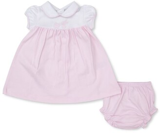 Kissy Kissy Embroidered Bunny Dress (0-18 Months)